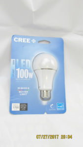 Cree retail packaging